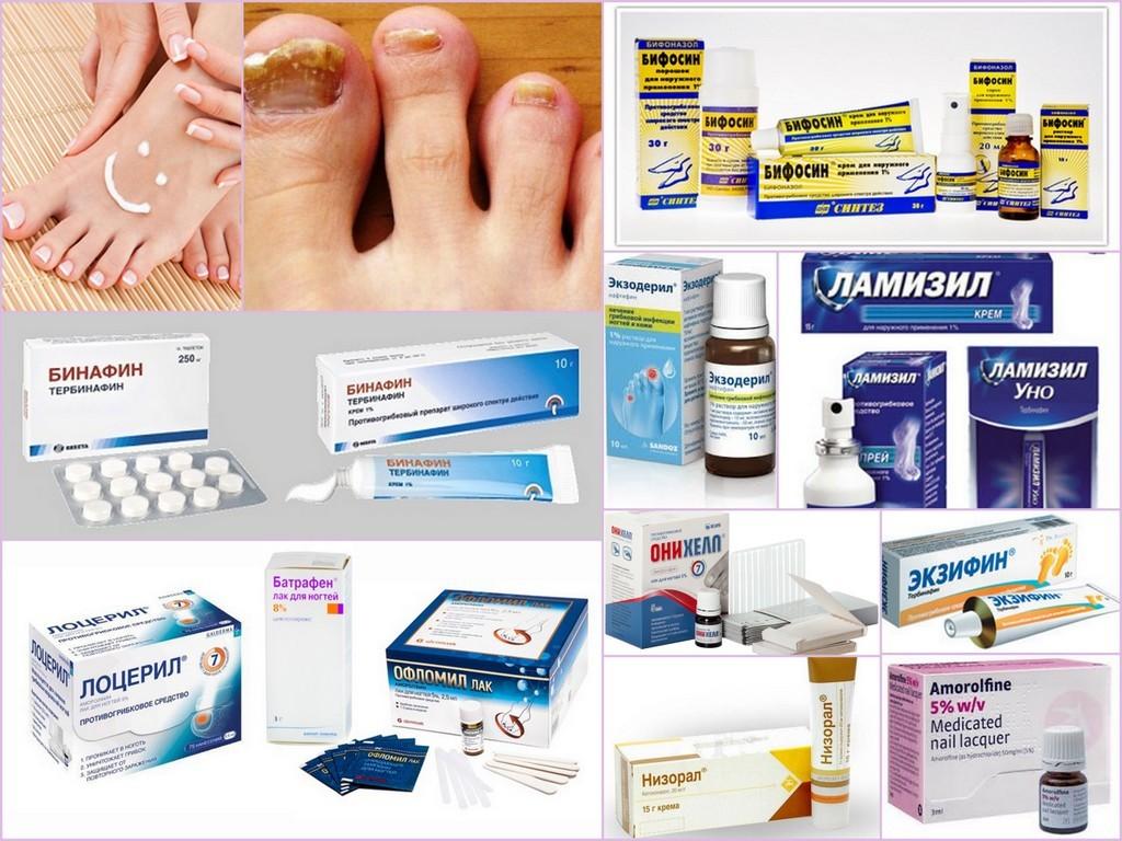Обзор лекарств от грибка ногтей
