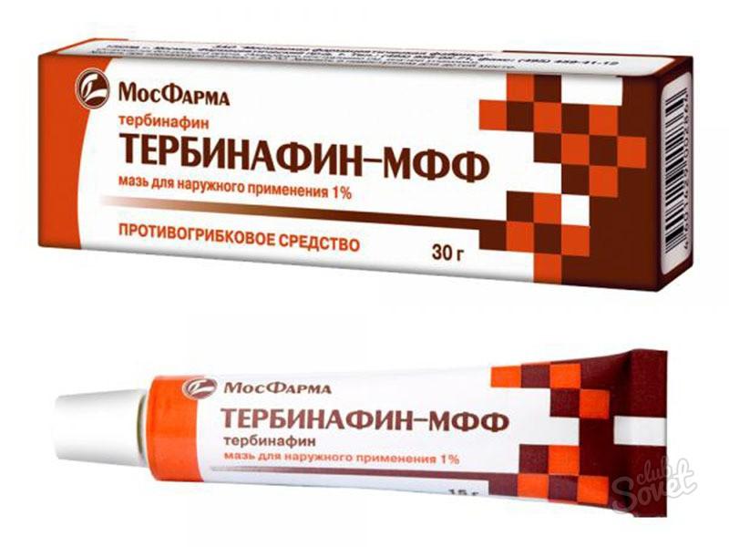 Мазь от грибка Тербинафин